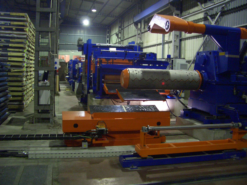 Rotary Shear Cut To Length Line 1500mm X 3mm S S Cut To