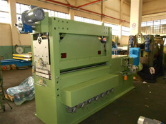 ROTARY SHEAR CUT TO LENGTH LINE