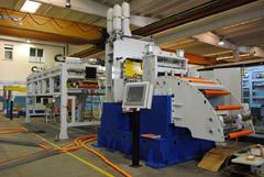 ROLL FEEDER CUT TO LENGTH LINE