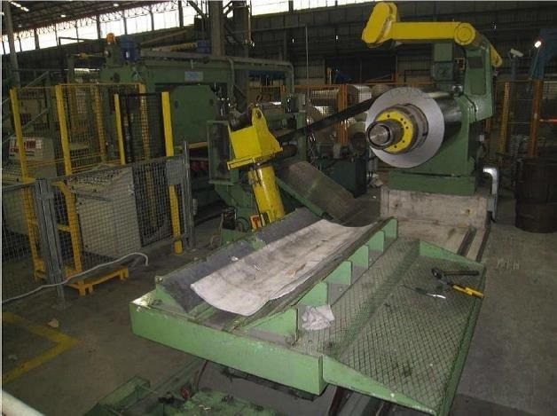 Used Roll Feeder Sheet Metal Cut To Length Line