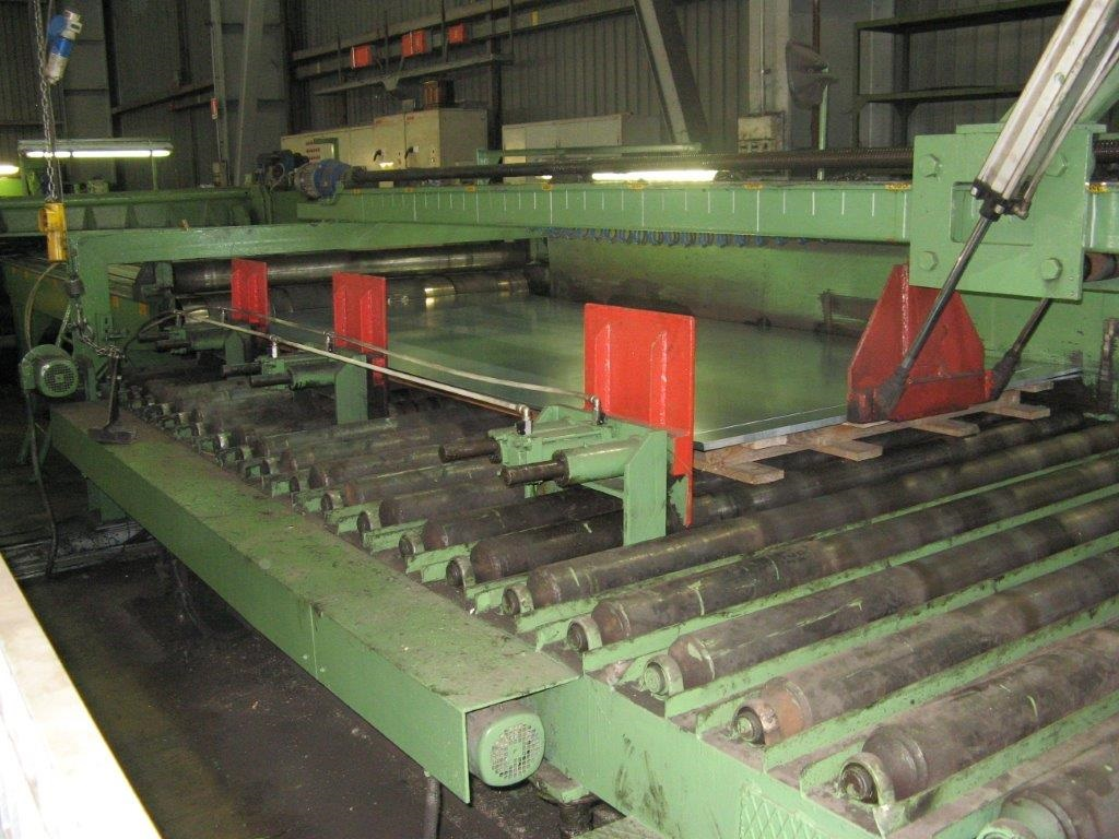 This Used Roll Feeder Cut To Length Line Still Is