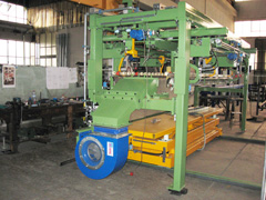 STAINLESS STEEL SHEET STACKER