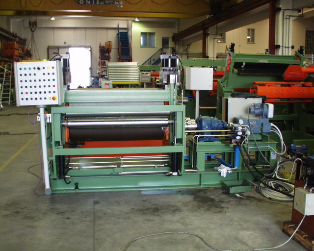 Coil Embossing Lines For 8mm Thick Material Other