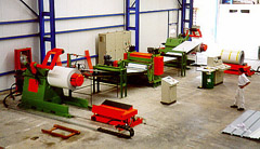 COIL EMBOSSING LINES