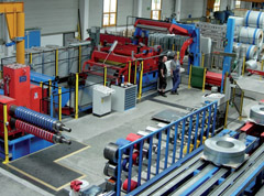 COMBINATION CTL  SLITTING LINE