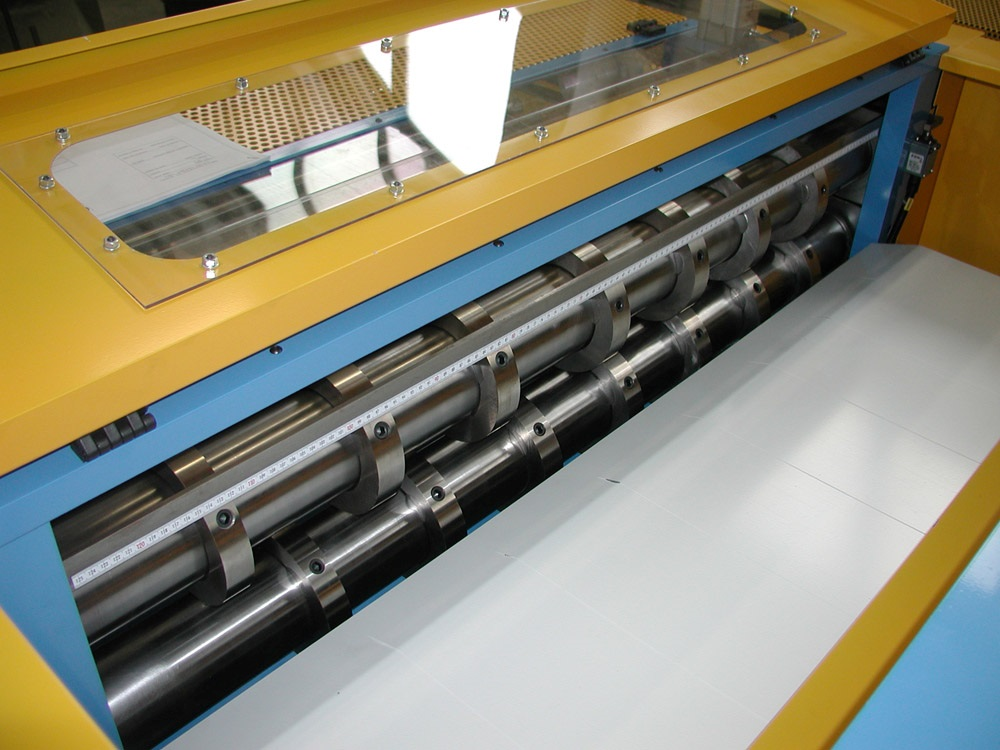 Multi Cut Blanking Lines 1250mm X 1 2mm Other Equipment