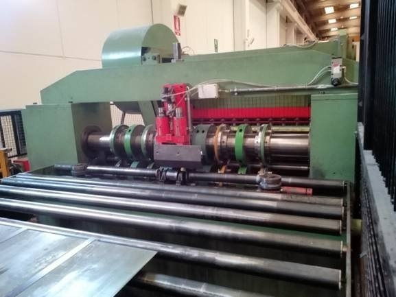 Used 1600mm X 2mm 63 Quot X 079 Quot Multi Blanking Line For