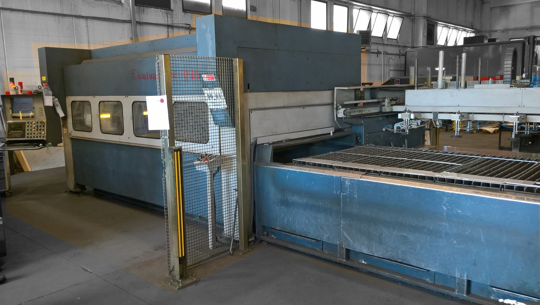 Used Salvagnini L1 Laser Cutting Machine For Sale