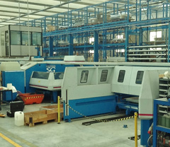 SHEET METAL FABRICATING EQUIPMENT