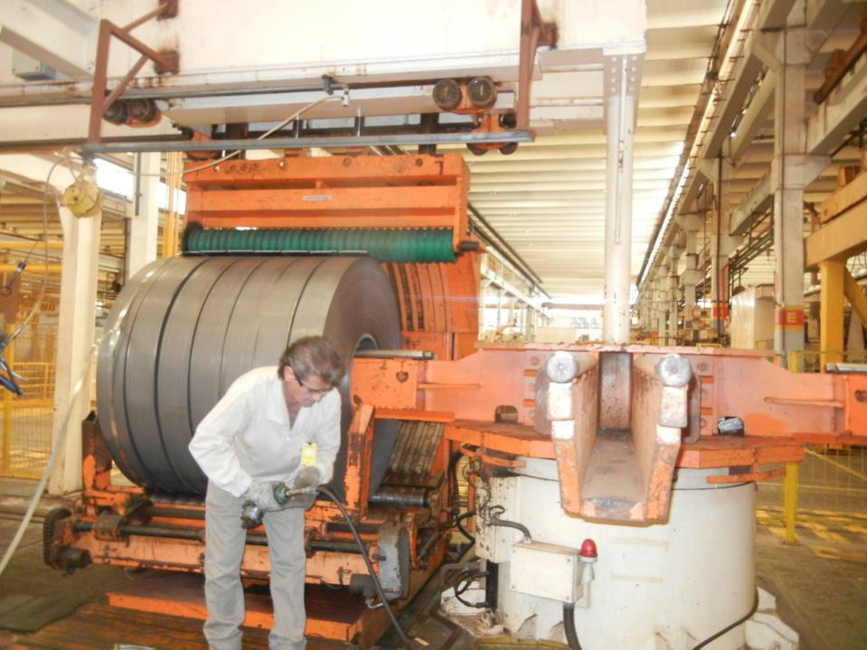 A Used Divimec Coil To Coil Slitting Line With Capacity