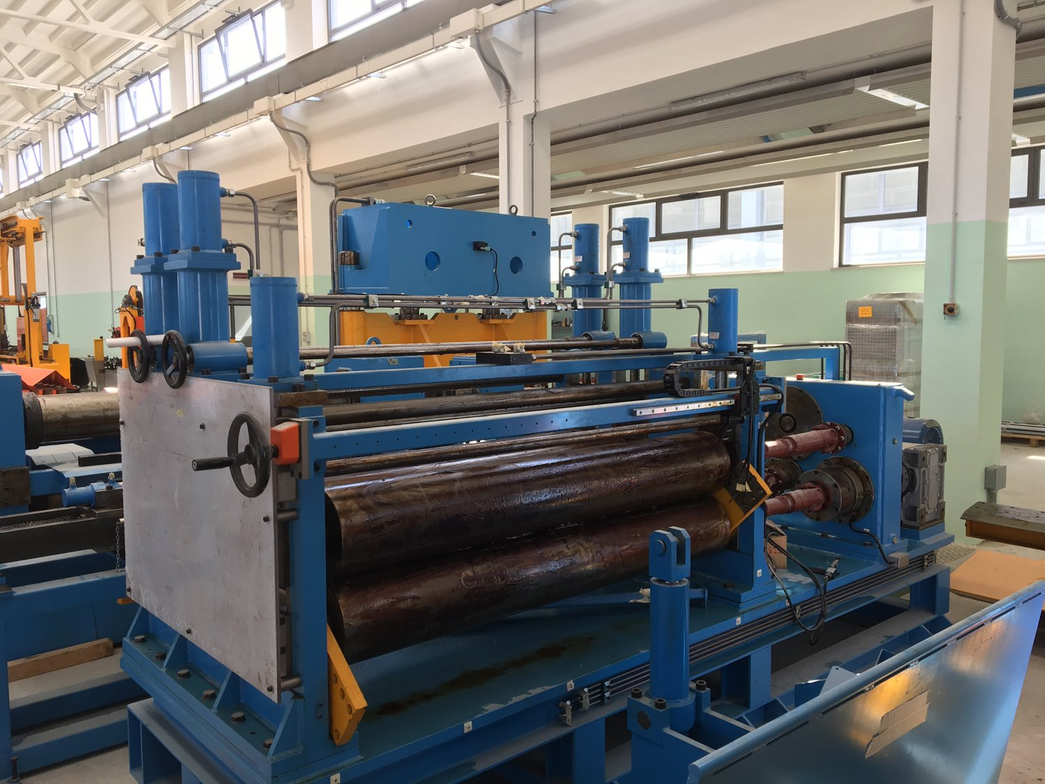 A 1600mm X 8mm New Heavy Gauge Slitting Line For Sale