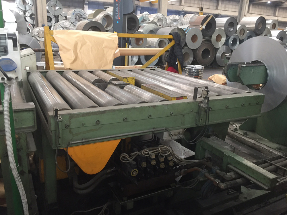 Used Slit Coil Packaging System For Carbon Steel