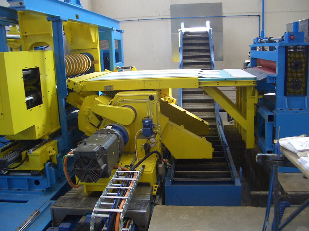 Slitting Line 1600mm X 3mm S S Al Brass Copper