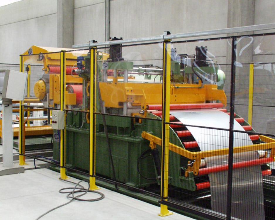Stainless Steel Slitting Line 1600mm X 3mm S S Slitting