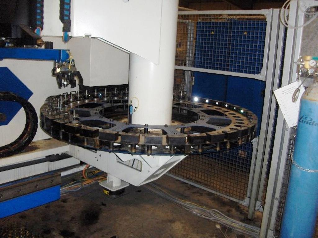 Laser Combo Punching Machine 6000l Laser Plasma Combo