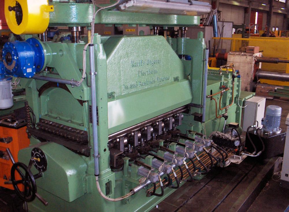 Roller Leveller 1300mm X 2 5mm 6 Hi Levellers Lev Ungerer 3143