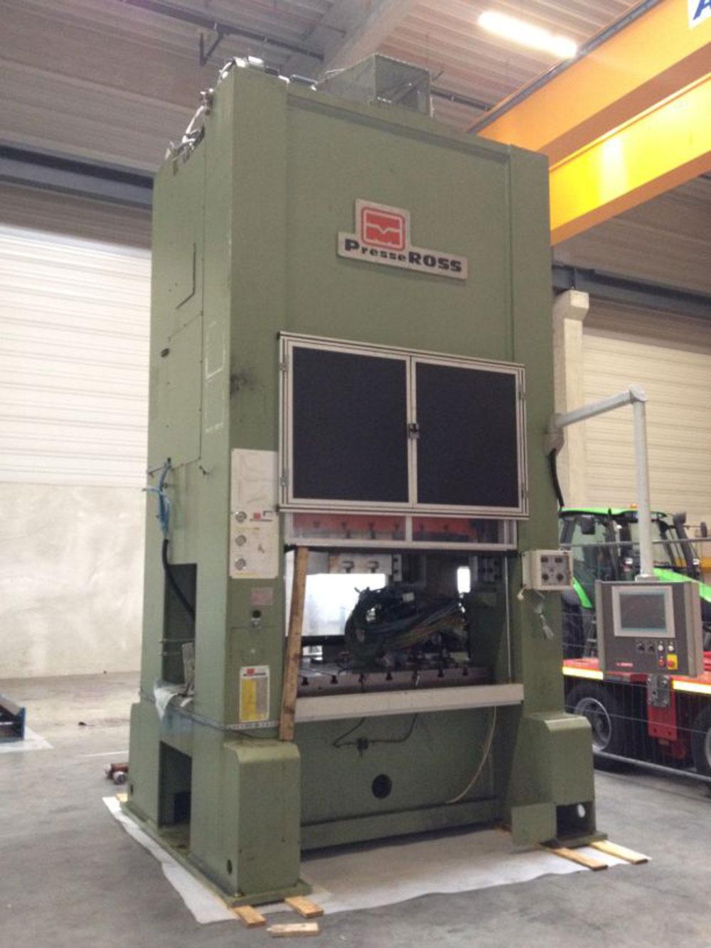Press Machine 315 T Press Machines Pma Ross 4105