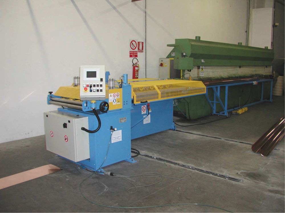 Gutter Manufacturing Machines And Lines